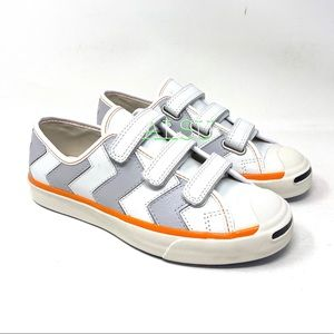 Converse x Koche Jack Purcell Leather Low Grey W
